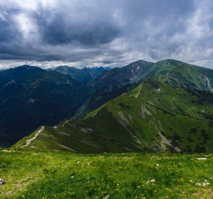 najwyższy szczyt w Polsce
