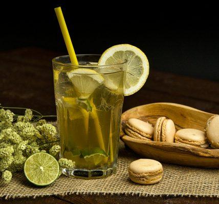 herbata zielona na zimno
